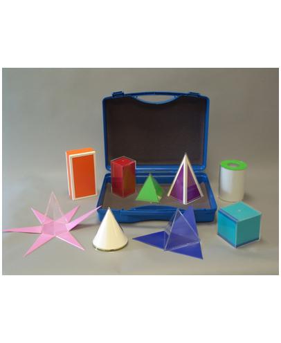 Komplet od 9 modela s mrežom površine u kovčegu 641-303