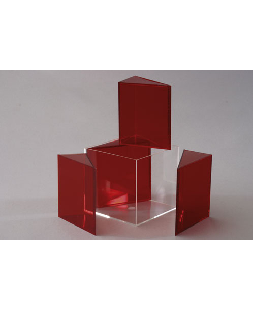 Kocka rastavljiva u četiri prizme jednakih stranica 641-514