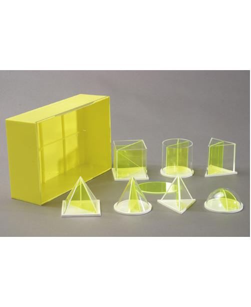 Mini set od 7 geometrijskih tijela s izmjenjivim presjekom za učenike 641-941-SA