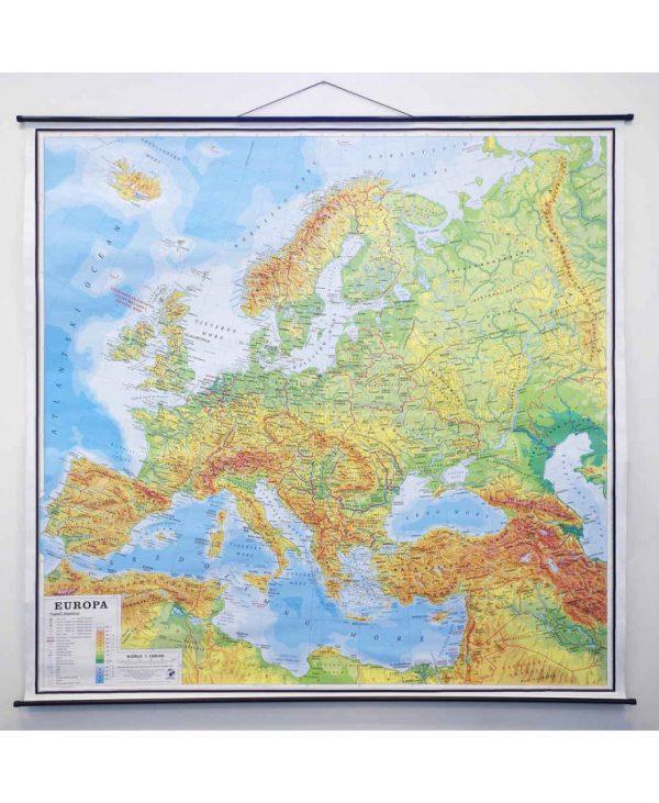 Geografska karta Europa