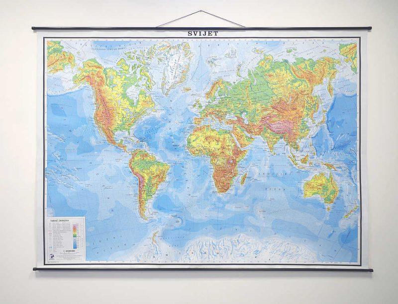 Karta Svijet