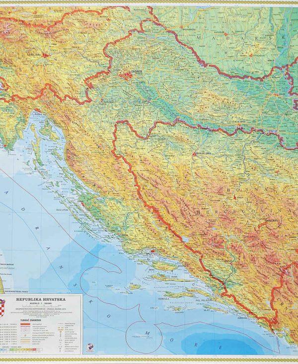 Zemljopisne zidne karte