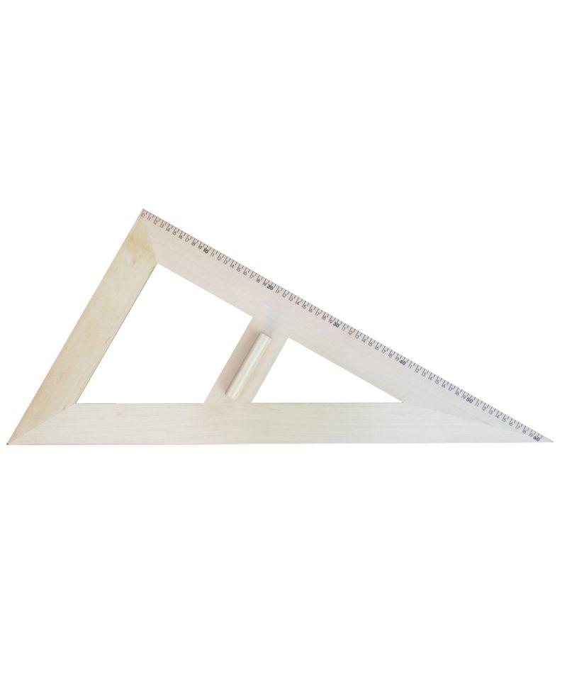 Trokut za školsku ploču 30°/60° - 60 cm drveni