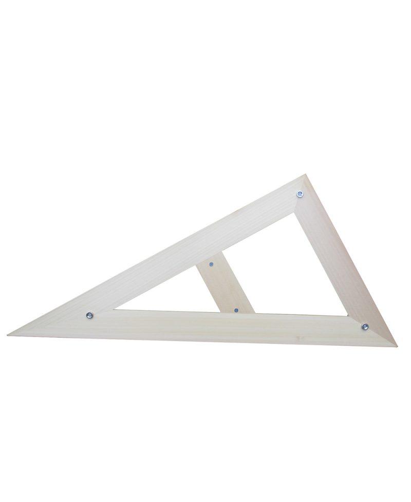 Trokut 30-60 - 60 cm drveni magnetni_1