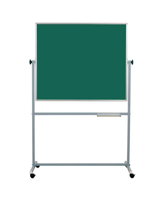 Školska ploča na stalku zeleno-zelena