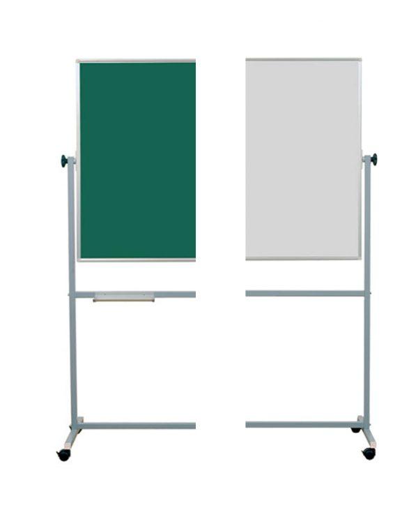 Školska ploča na stalku zeleno-bijela