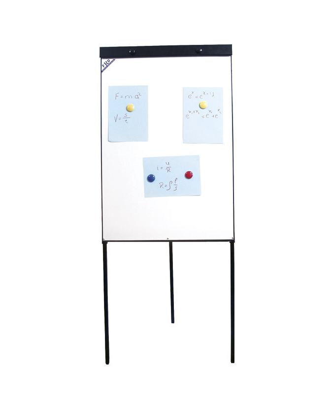 Flipchart s bijelom pločom 70×103 cm