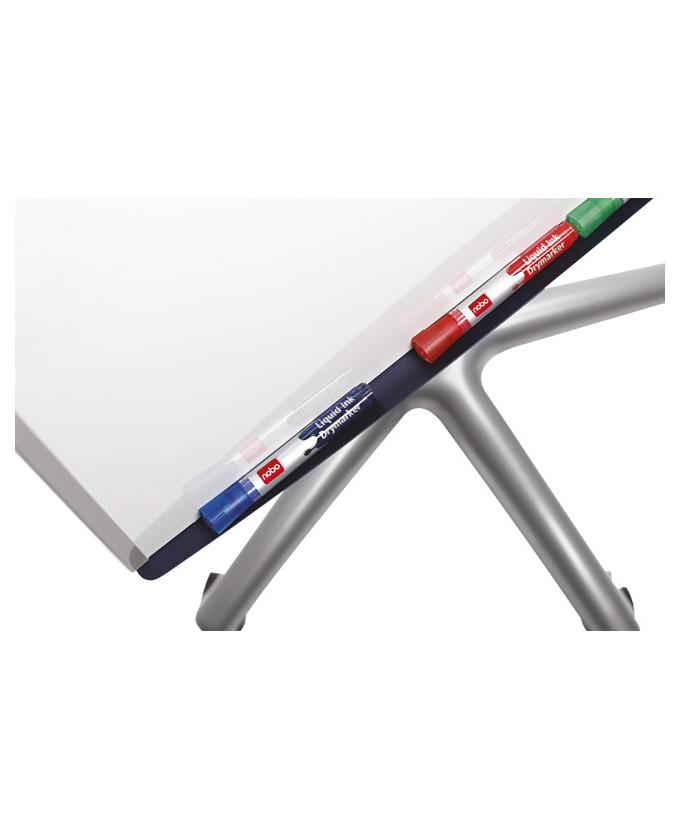 Flipchart s bijelom pločom, pokretni, 70×100cm Baracuda