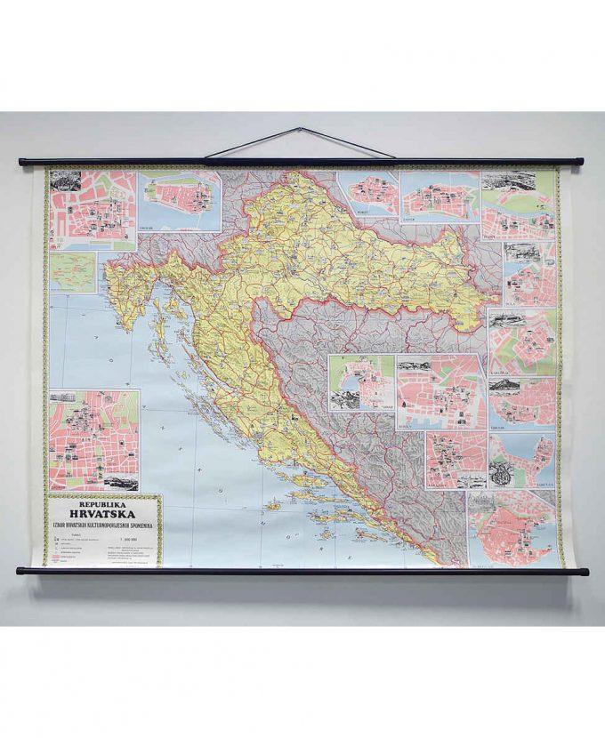 Republika Hrvatska – izbor Hrvatskih kulturno-povijesnih spomenika