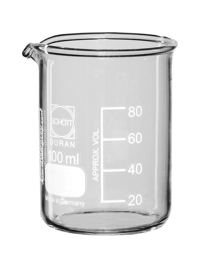 Čaša niska 100 mL