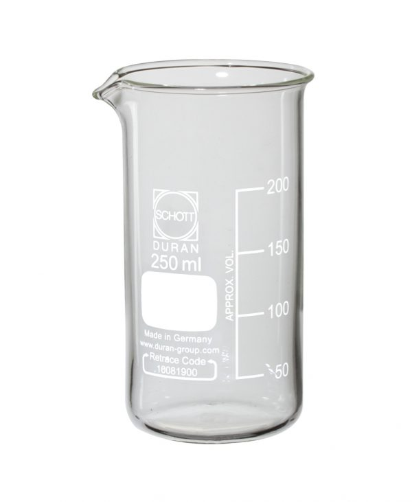 Čaša visoka 250 mL