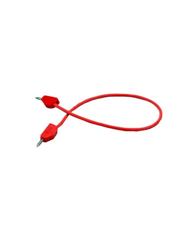 Kabel s utikačima od 2 mm, 25 cm, crveni