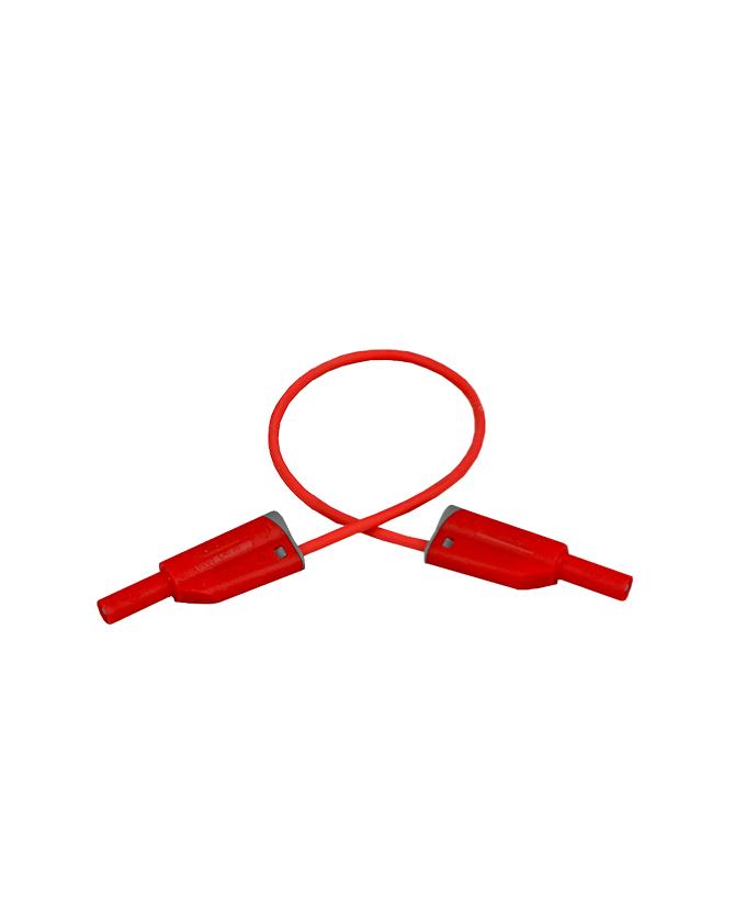 Sigurnosni kabel, silikon, 25 cm, crveni