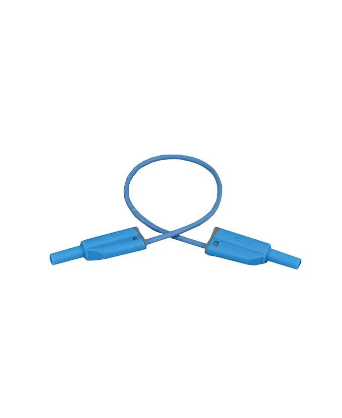 Sigurnosni kabel, silikon, 25 cm, plavi