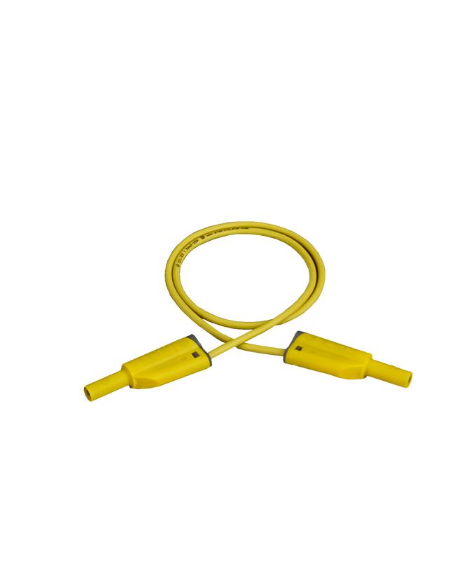 Sigurnosni kabel, silikon, 50 cm, žuti