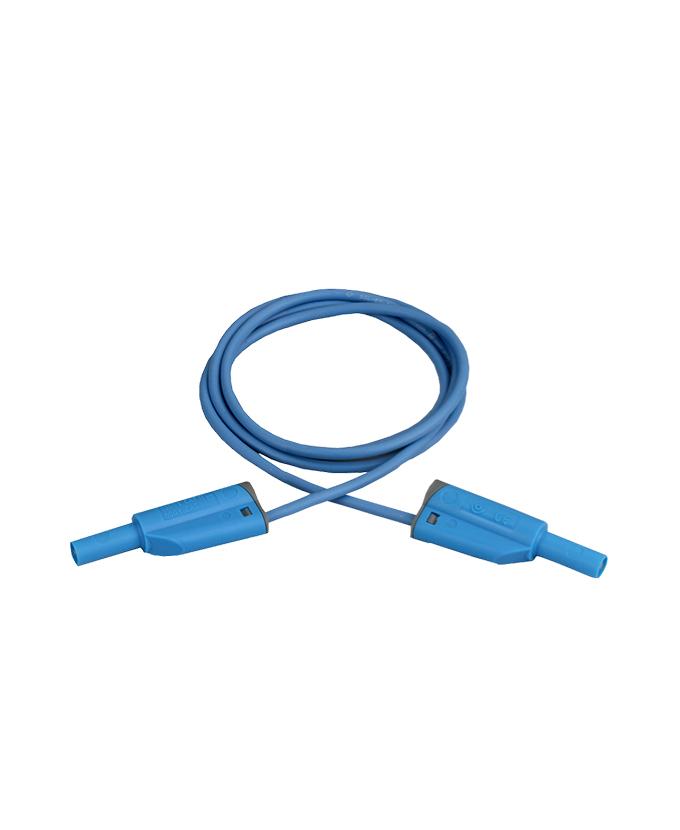 Sigurnosni kabel, silikon, 100 cm, plavi