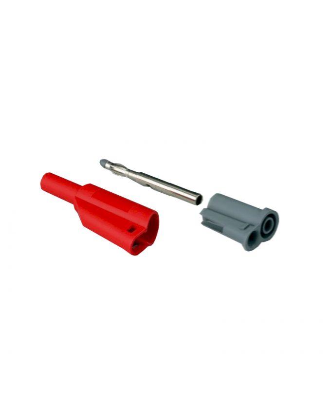 Sigurnosni utikač za kabele, crveni