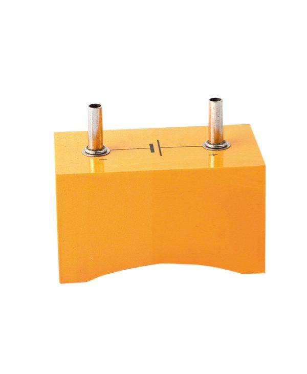 Držač baterije za 1 x D / R20, sigurnosna utičnica