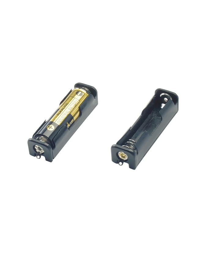 Držač baterije za 1 x AA / LR6, spoj lemjenjem