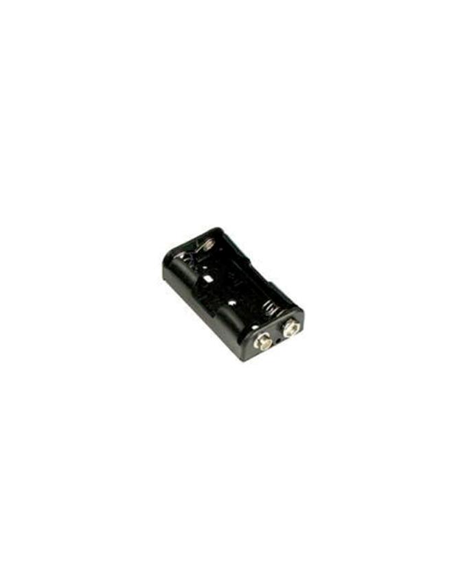 Držač baterije za 1 x AA / LR6, spoj kopčom