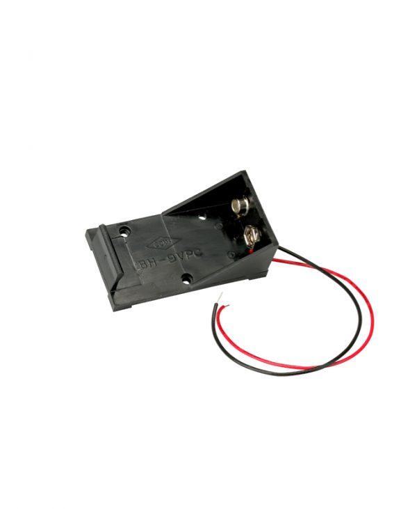 Držač baterije za 1 x 9 V E-blok, spoj žicama