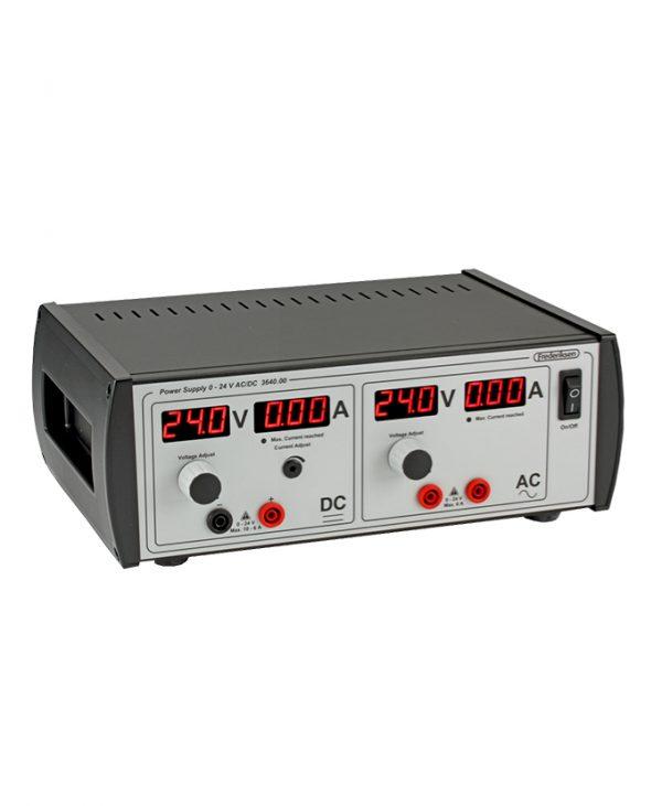 Izvor napajanja 0-24 V AC/DC sa fiksnim graničnikom struje, 230 V