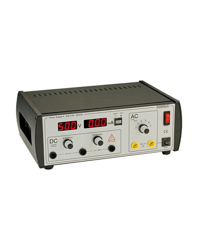 Izvor napajanja 0 – 500 V – model za profesora