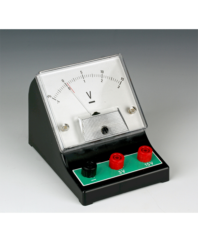 Voltmeter, analogni učenički
