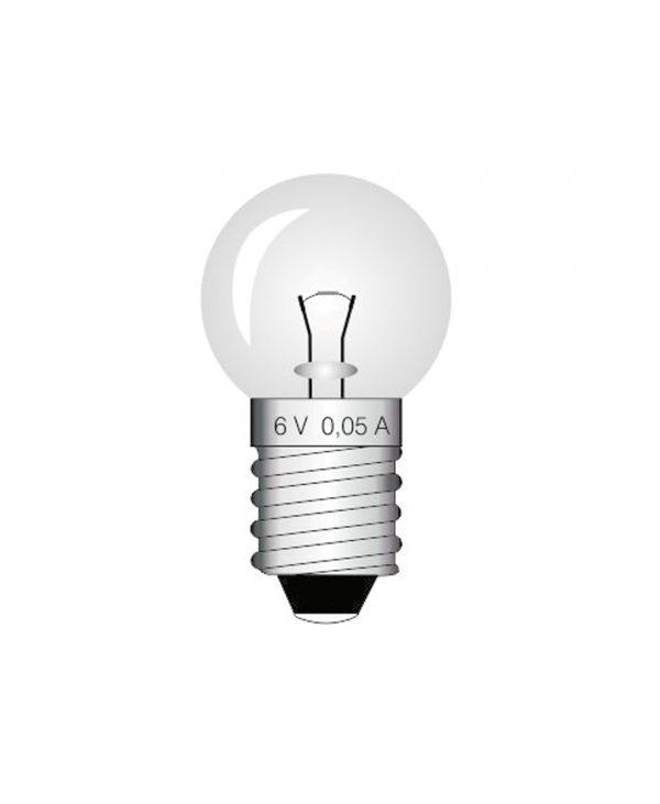 Žarulja, 6 V, 0.05 A