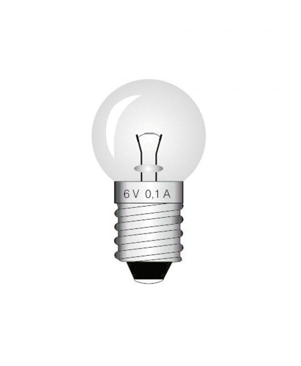 Žarulja, 6 V, 0.1 A