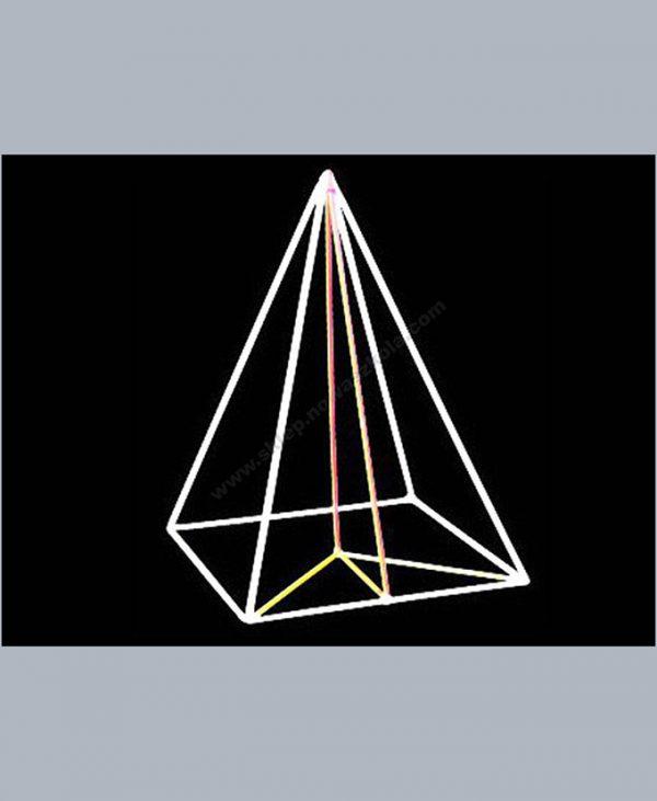HG0032 Kvadratna piramida