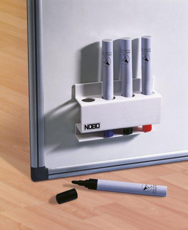 9030 Držač markera za bijelu ploču magnetni četvrtasti Nobo