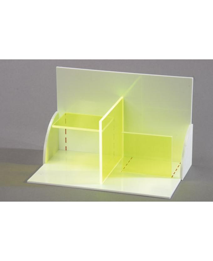 3D model projekcije tijela: trodimenzionalni model s plohama ravnih linija.