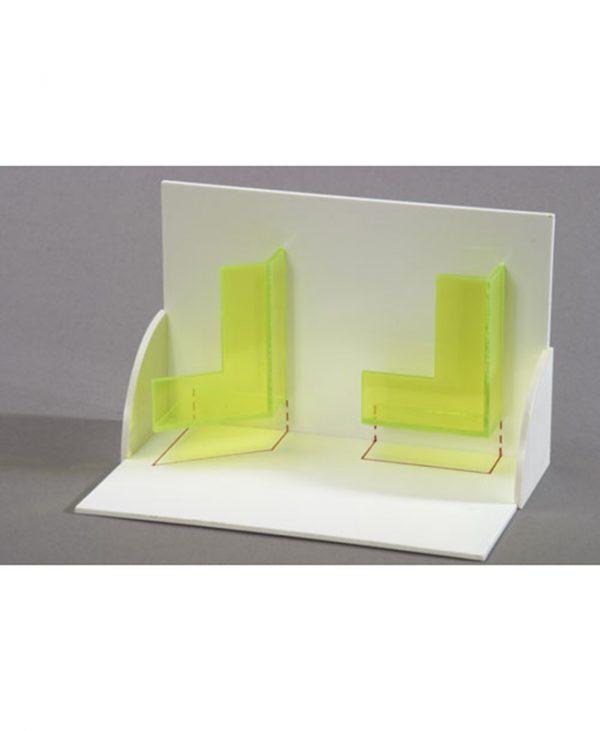 3D model projekcije tijela: Trodimenzionalni model horizontalne i vertikalne projekcije čvrstih tijela.