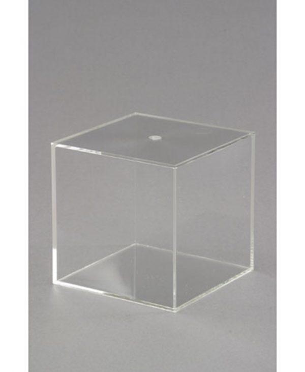 Kocka s zatvorenim stranicama, prozirna