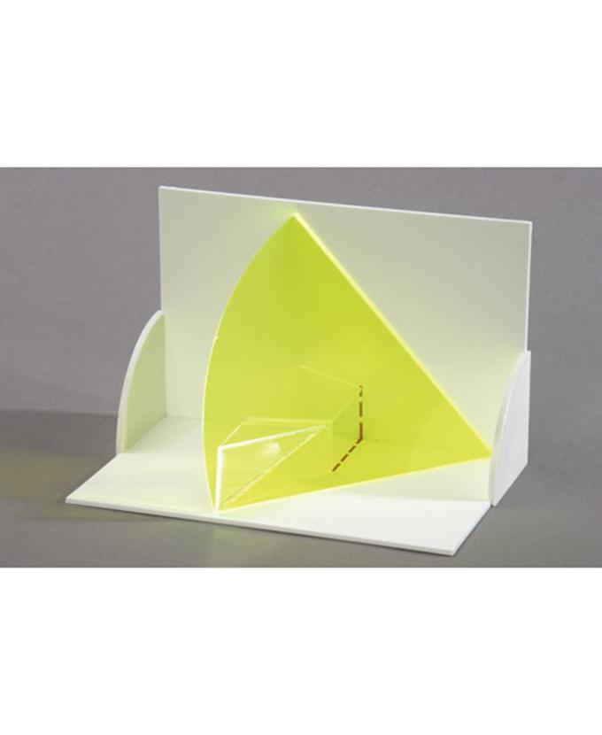 3D model projekcije tijela: Trodimenzionalni model ravnih linija u presjeku nekoliko ravnina