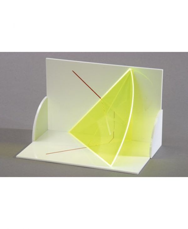 3D model projekcije tijela: Trodimenzionalni model horizontalnih i vertikalnih pravaca