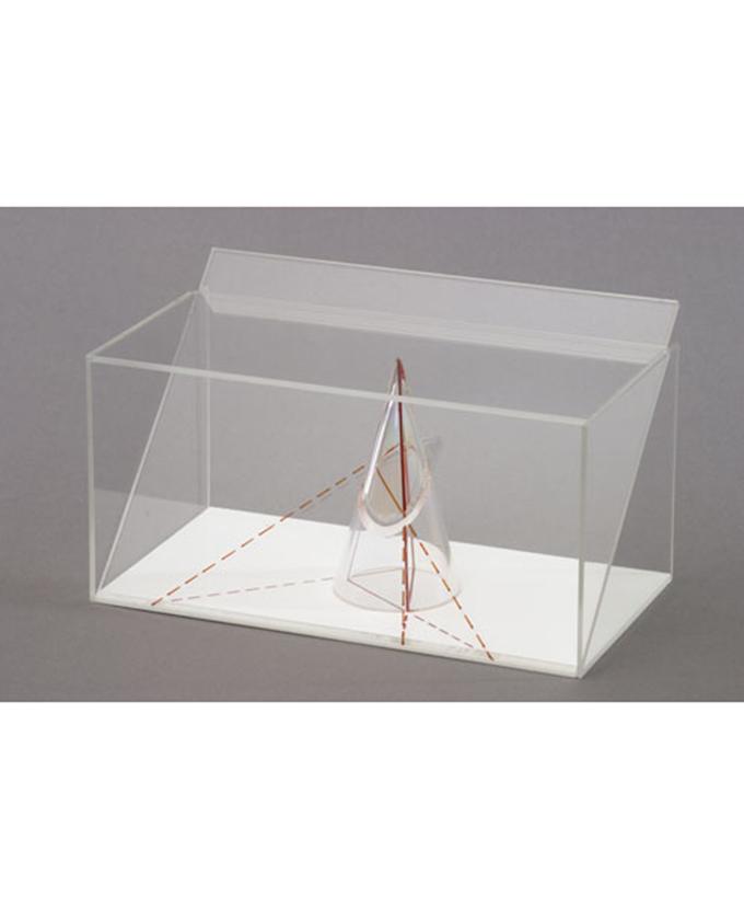 3D model projekcije tijela: Model projekcije stošca