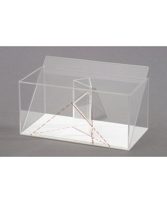 3D model projekcije tijela: Model projekcije trostrane prizme