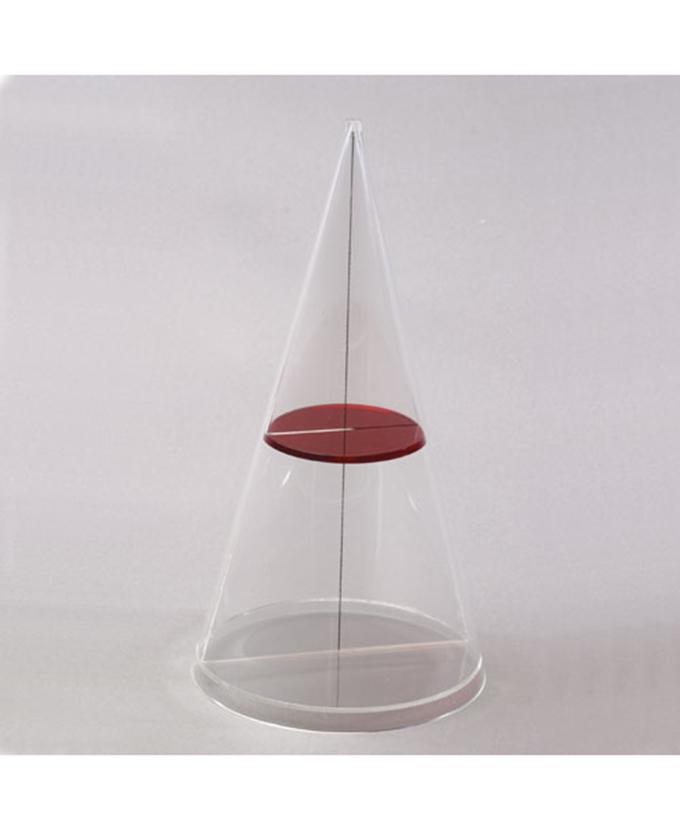Dvostruki stožac s hiperboličnom presjekom ravnina