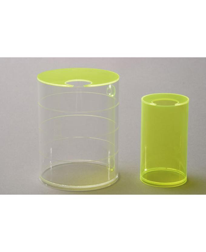 Dva valjka, zapremina 1 litra i ¼ litre, model volumena.