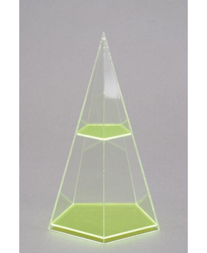 Peterostrana piramida s vodoravnim presjekom