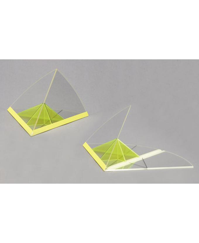Pravilan sferni trokut koji se rasklapa u ravninu