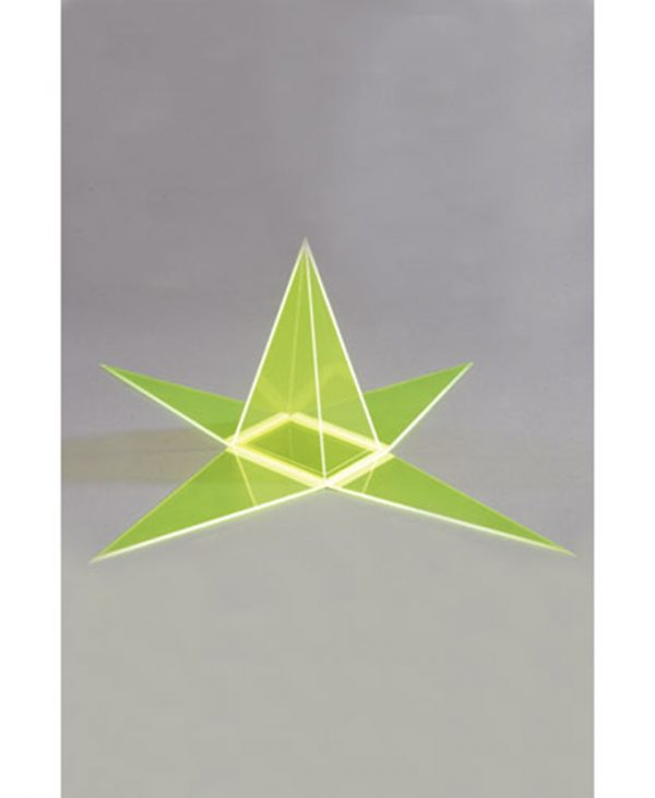 Pravokutna piramida s odvojivom mrežom površine
