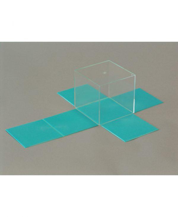 Kocka s odvojivom mrežom površine