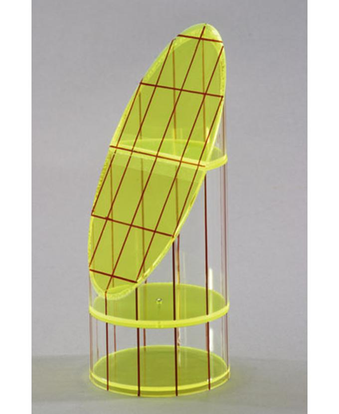 Model valjka za dobivanje mreže u kosom dijelu valjka