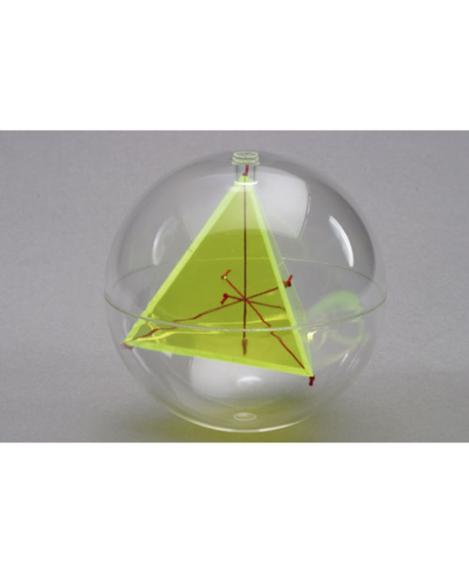Kugla s unutarnjim tetraedrom i dijagonalnim nitima