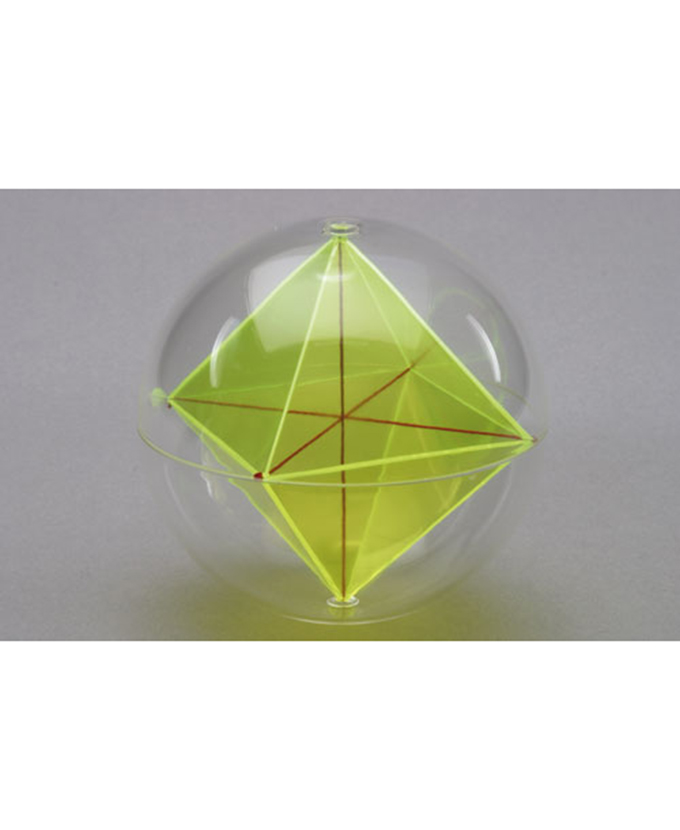 Kugla s unutarnjim oktaedrom i dijagonalnim nitima