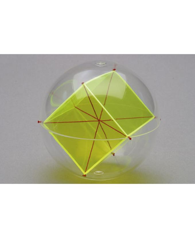 Kugla s unutarnjim heksaedrom i dijagonalnim nitima