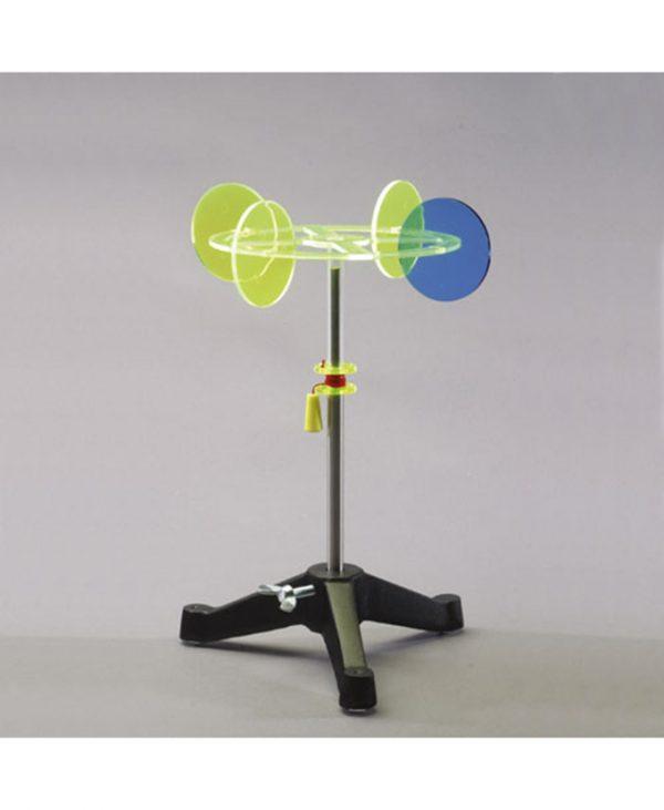 Rotacijski model s diskovima za demonstraciju Pappus-Guldinova pravila